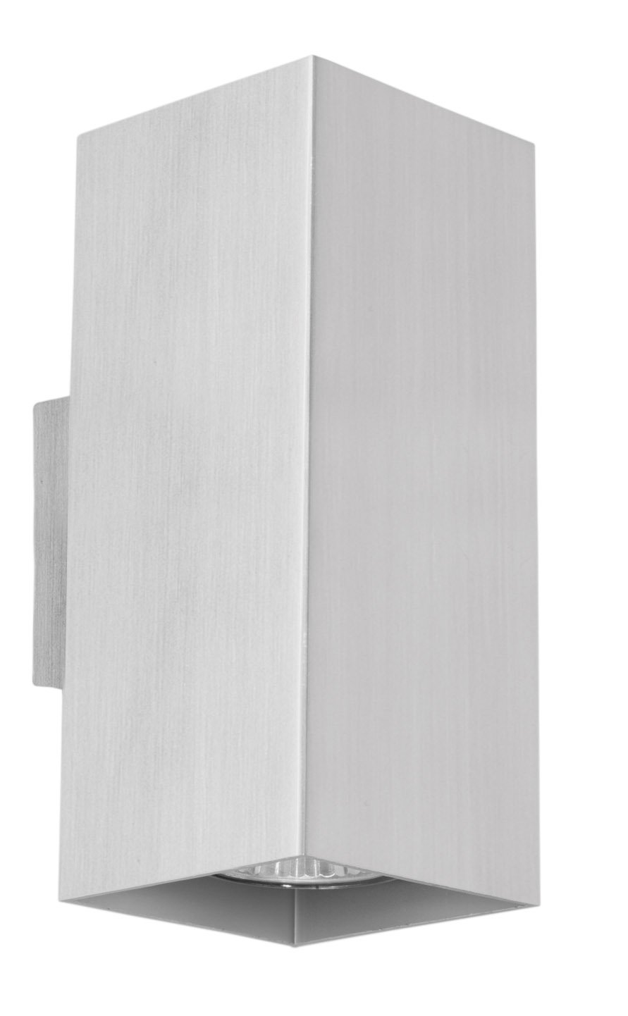 Eglo 87019A Madras Wall or Ceiling Light, Aluminum