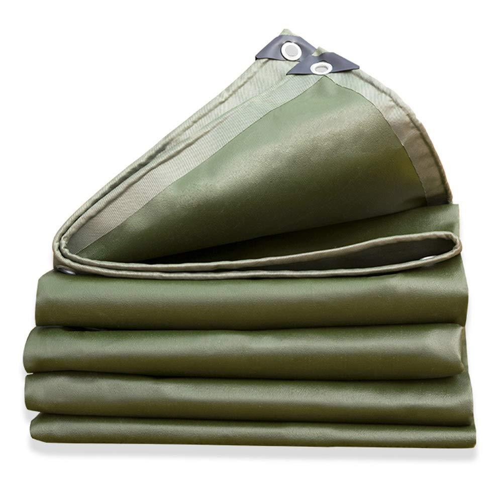 LIXIONG オーニング屋外の シェード オックスフォード布 保存料 折りやすい 防雨布、 16サイズ カスタマイズ可能 (色 : 緑, サイズ さいず : 2.8X4.8m) 2.8X4.8m 緑 B07QGB1H3C