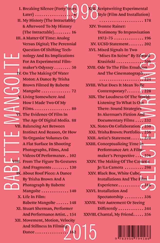 Selected Writings 1998 2015  Sternberg Press