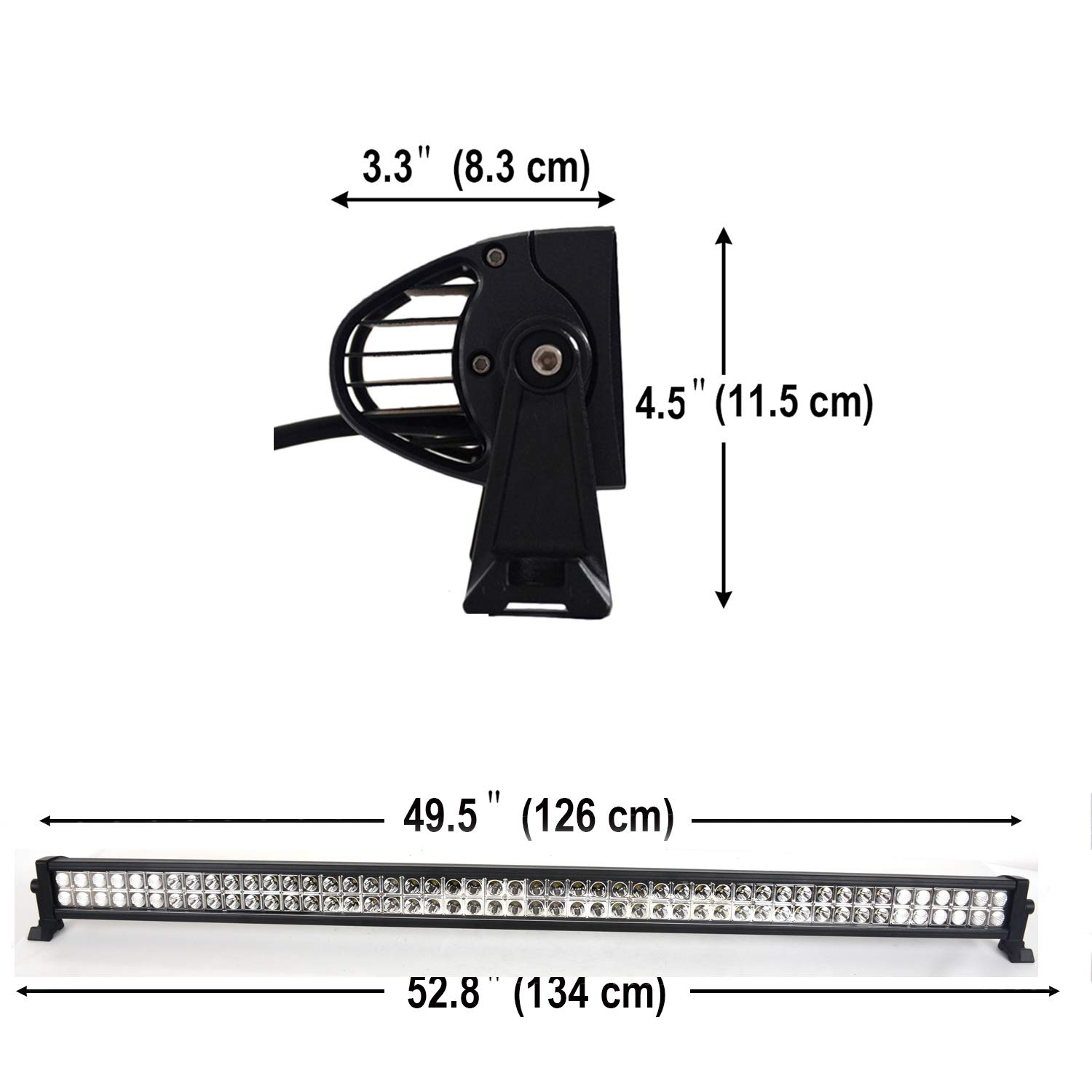 China CH008 32 Inch LED Light Bar180W FSYF LED Work Lights Combo LED Driving Lights Jeep Off Road Lights Boat Lighting 2 Year Waranty 6000-6200k Waterproof For Suv Atv 4wd Truck Heavy Duty Vehicle 32 inch