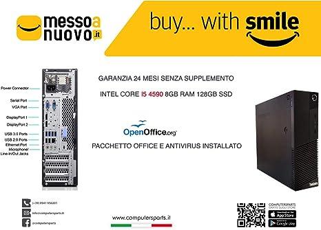 PC Lenovo ThinkCentre M93P SFF - Core i5-4590, RAM 8 GB, HDD 128 ...