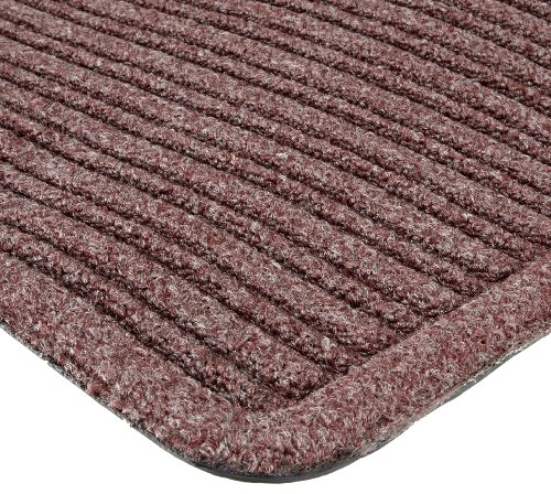 Notrax 161 Barrier Rib Entrance Mat, for Indoor Main Entranceways and Heavy Traffic Areas, 4' Width x 6' Length x 3/8