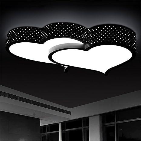 XUE Ed Lámparas de techo modernas minimalistas románticas ...