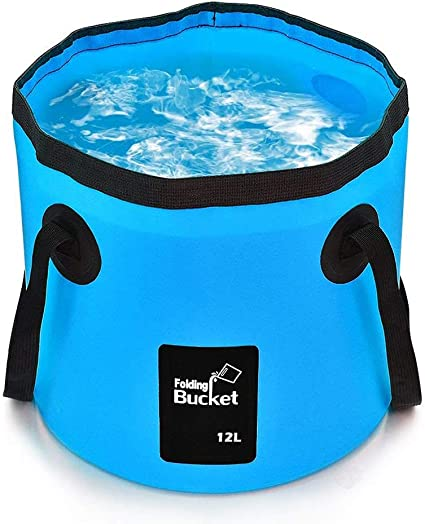 Camping Folding Collapsible Water Bucket Barrel Fishing Laundry A