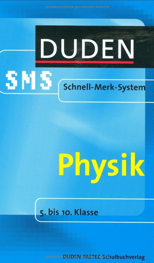 Physik: 5. bis 10. Klasse