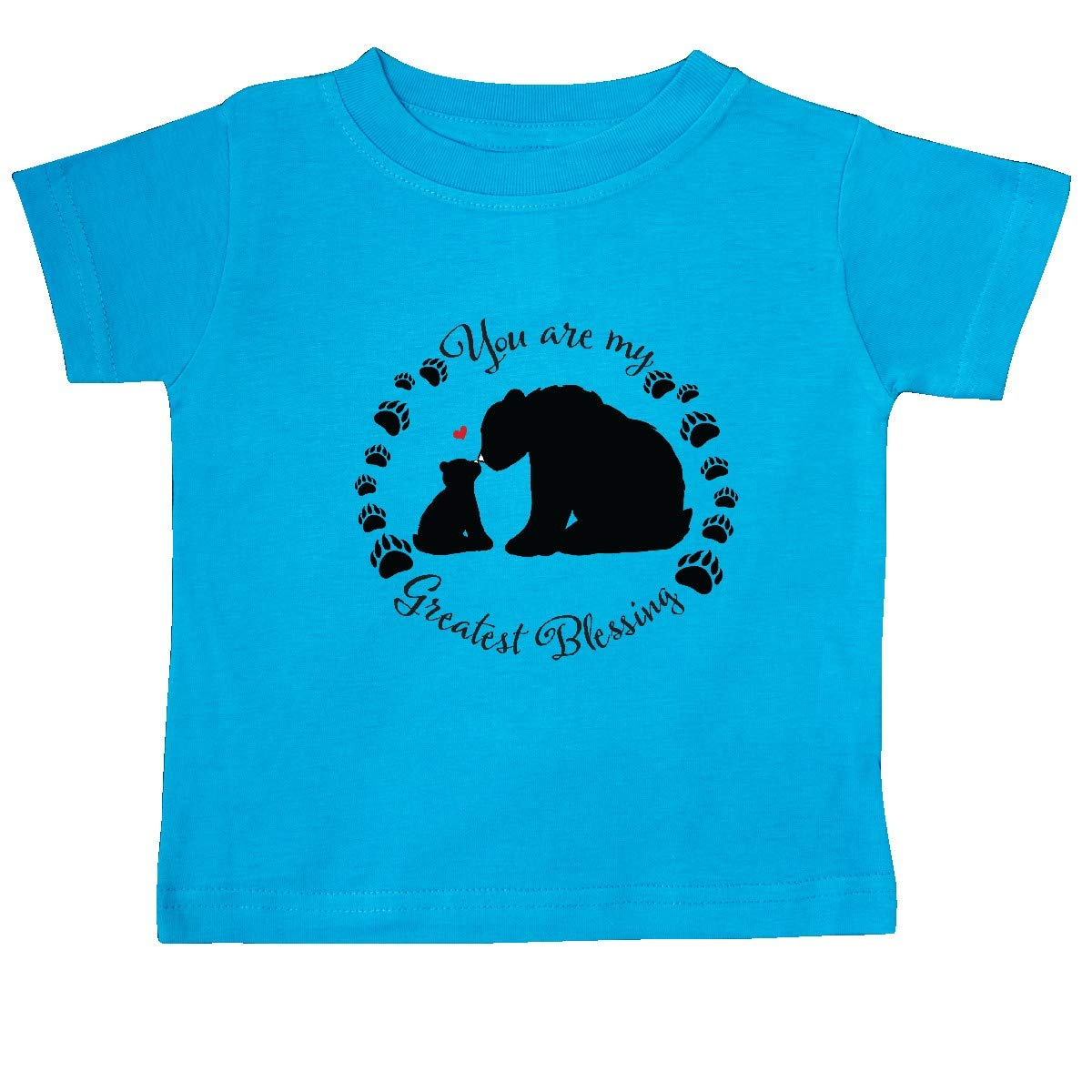 inktastic You are My Greatest Blessing with Bear Family Baby T-Shirt
