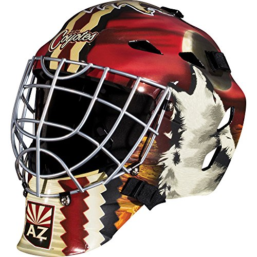 fan products of Franklin Sports GFM 1500 NHL Arizona Coyotes Goalie Face Mask