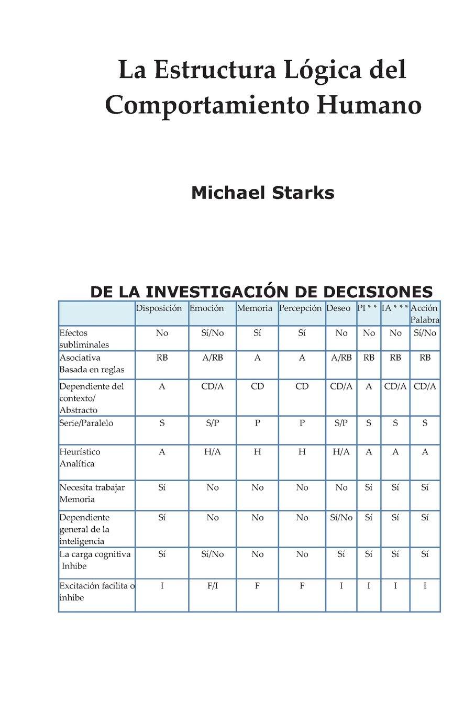 Amazon Fr La Estructura Lógica Del Comportamiento Humano
