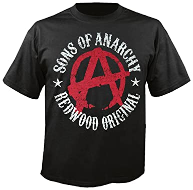 172b6e291cd SONS OF ANARCHY - Symbol - T-Shirt  Amazon.co.uk  Clothing