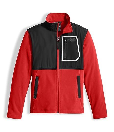 041d302f Amazon.com: The North Face Boys' Peril Glacier Track Jacket (Little Big Kids):  Clothing