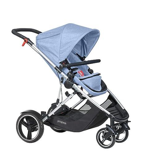 Cochecito de bebé Phil&Teds Voyager azul