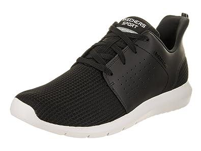 Skechers Performance Go Run 400, Zapatillas de Entrenamiento para Hombre, Negro (Black), 46 EU