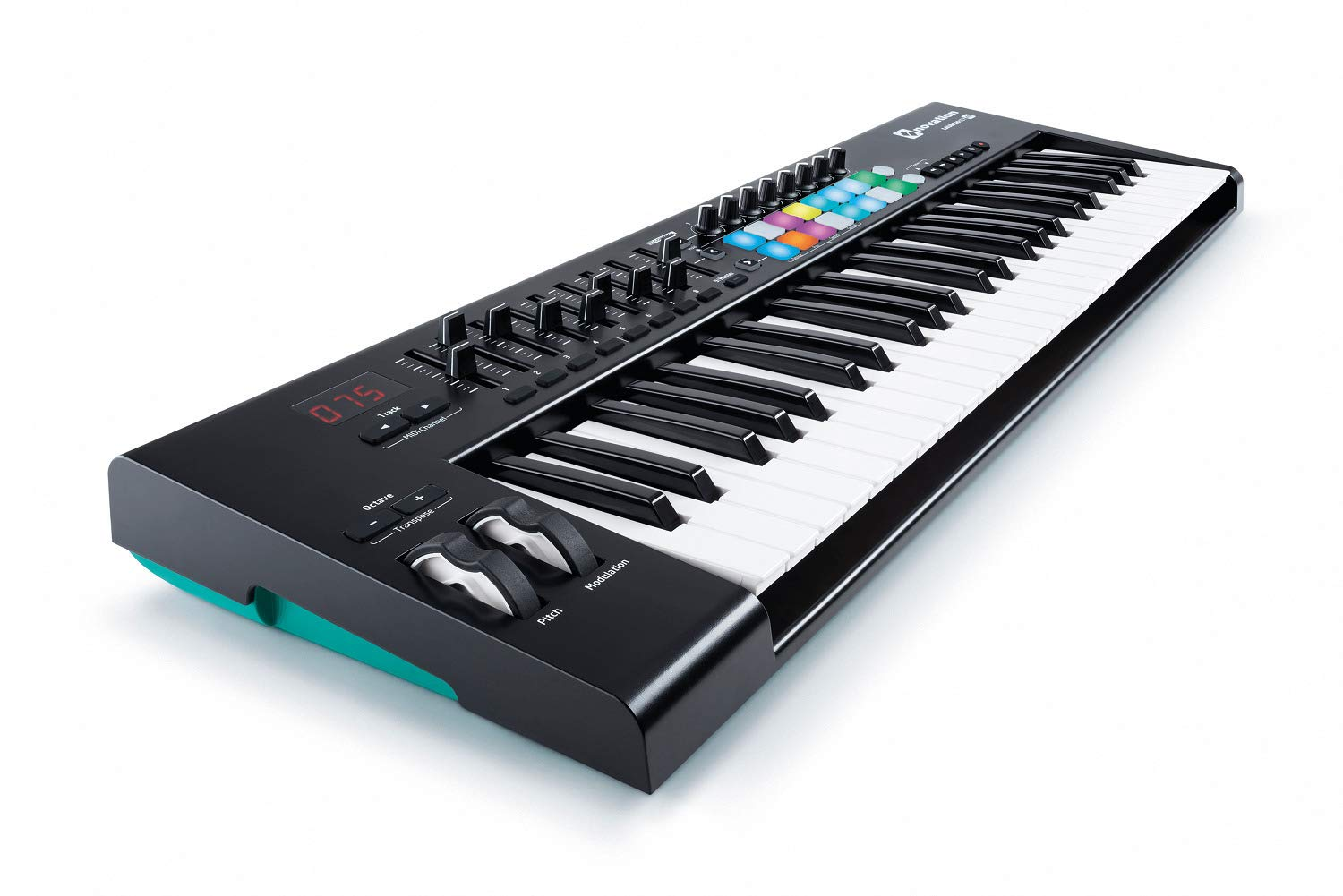 Novation Launchkey 49 MK2 Keyboard Controller with Knox Keyboard Stand and Sustain Pedal by Novation (Image #6)