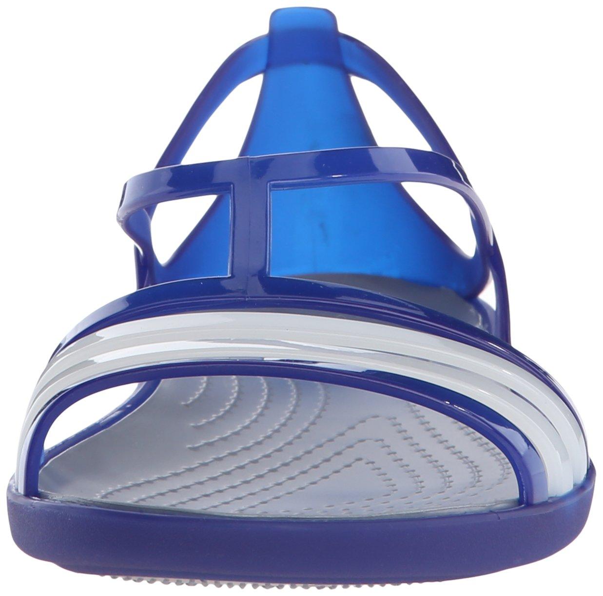 Crocs Damen Blau Isabella W Sandalen Cerulan Blau Damen 826886