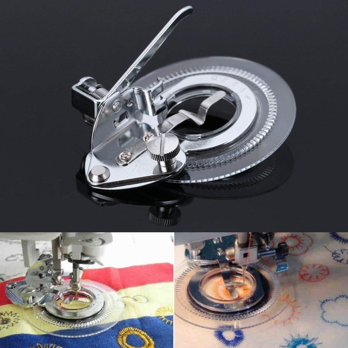 Pixnor multi-funcional Daisy Flower Stitch máquina de coser Singer ...