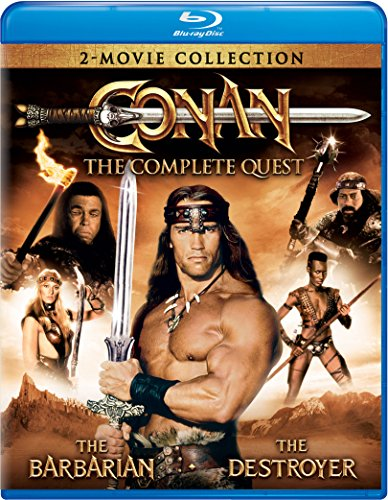 Blu-ray : Conan: The Complete Quest (Snap Case, 2 Pack, 2 Disc)