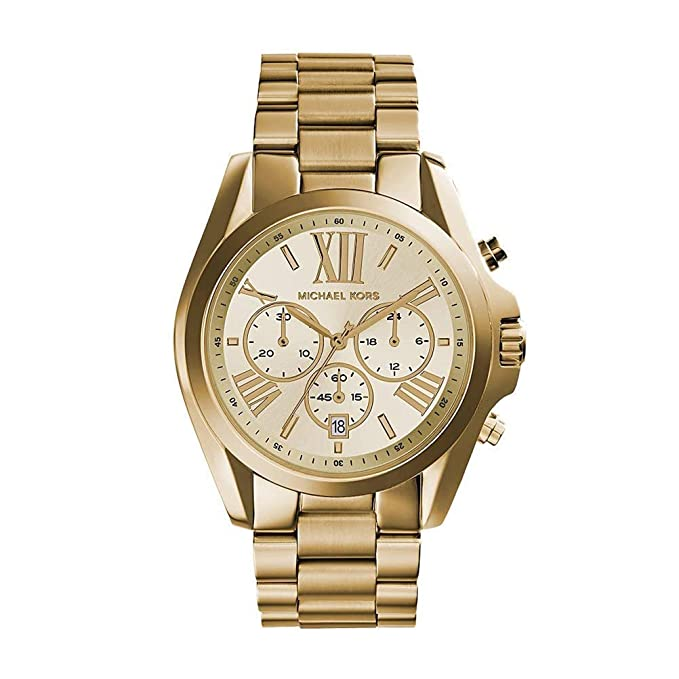 Michael Kors Women's Bradshaw Gold-Tone Watch MK5605