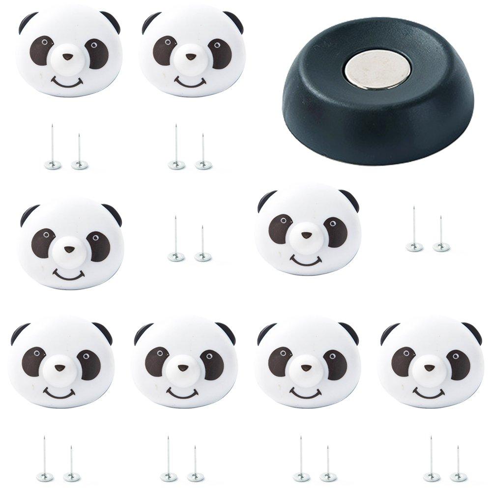 Rocita Panda Clips de fixation pour couette