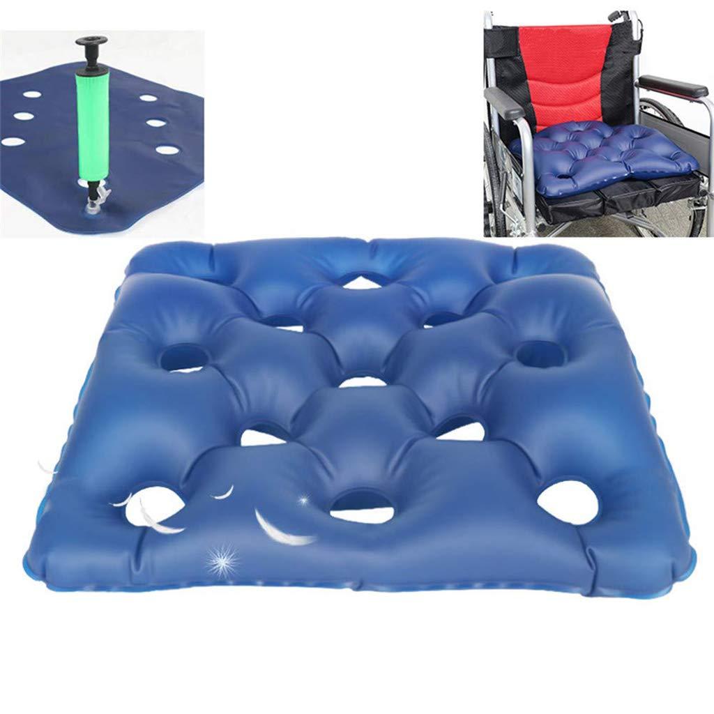 Premium Air Inflatable Seat Cushion, Comfortable Medical Premium Air Inflatable Seat Cushion for Wheelchair and Daily