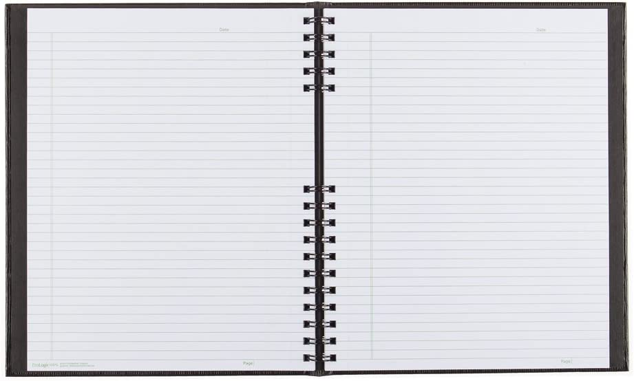 A10200.RED 11 x 8.5 inches 200 Pages Blueline NotePro Notebook Red