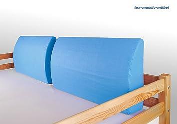 Etagenbett Xora : Seitenkissen kissen dekokissen hellblau für hochbett spielbett