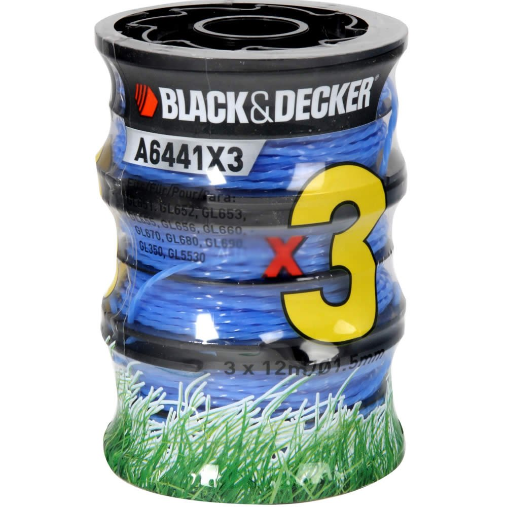 BLACK AND DECKER STRIMMER SPOOL COVER CAP  GL651 GL652 GL653 GL651