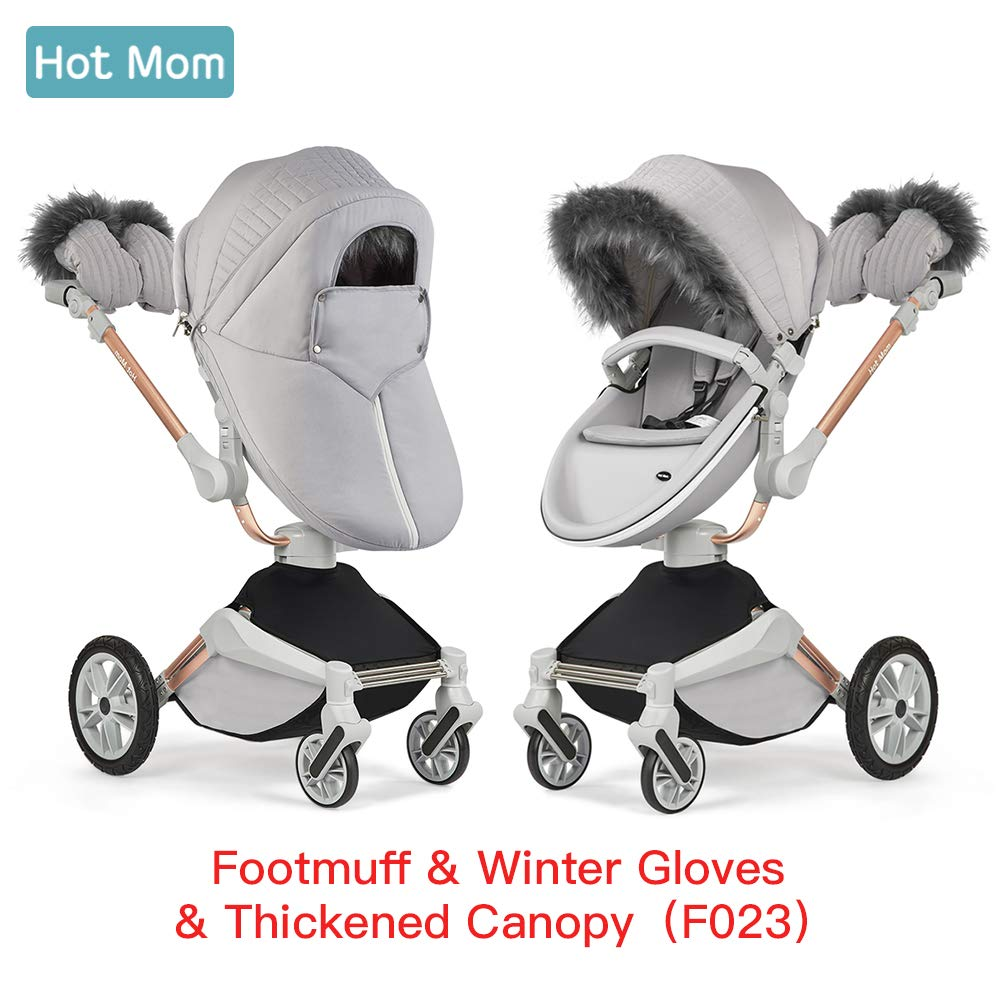Hot Mom winterkit for 3 in 1 Travel System with 360 Rotation Function, Grey Hot Mom baby products co. Ltd WK-F023