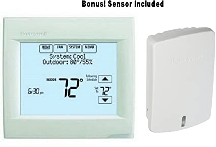 Honeywell TH8110R1008 Vision Pro 8000 Touch Screen Single Stage Thermostat with Red Link Technology BONUS: