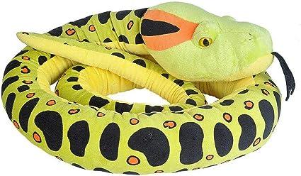 113 Inches Wild Republic Snakes Gifts for Kids Super Jumbo Snake Plush Giant Stuffed Animal Plush Toy Anaconda
