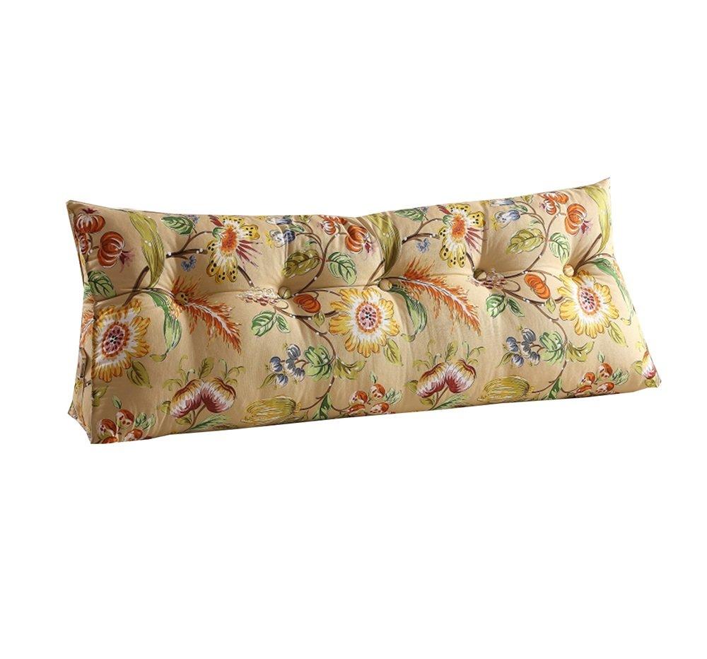 ベッドサイド背もたれ三角ベッド枕ソファ大きなロングクッション/枕の腰の枕はクッションゴールデンを読む (サイズ さいず : 180 * 50 * 22cm) B07DK8PV1B 180*50*22cm  180*50*22cm