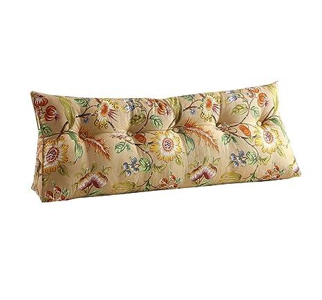 Respaldo de cabecera Triangle Bed Pillow Sofa Large Cojines ...