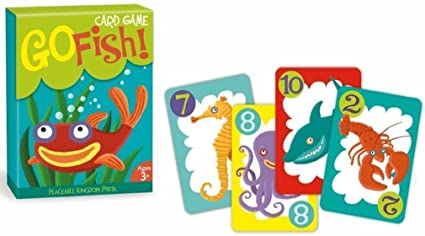 Shaped go fish vintage card game share