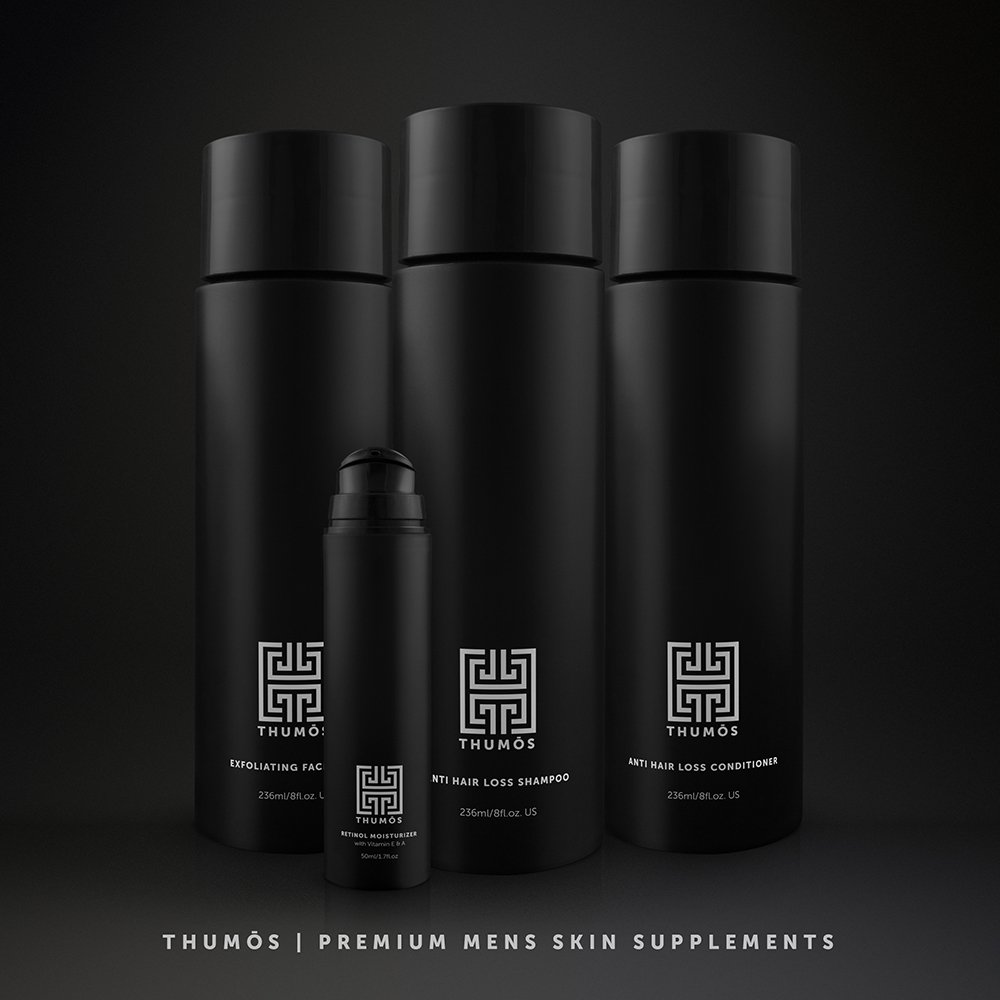 Male Hair Loss Shampoo for Men – Hair Thickening Shampoo Stimulates & Invigorates Hair Follicles to Promote Thicker, Fuller Growth by Thumos by Thumos (Image #8)