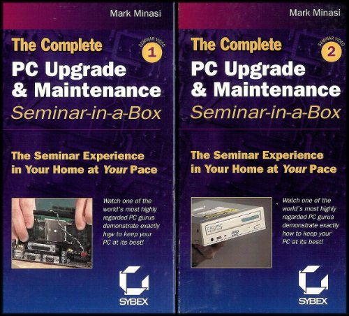 The Complete PC Upgrade and Maintenance Seminar-in-a-Box [2 VHS Videos] 10th ()