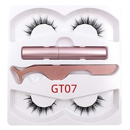 2019 Kit de delineador de ojos magnético, delineador de ojos ...