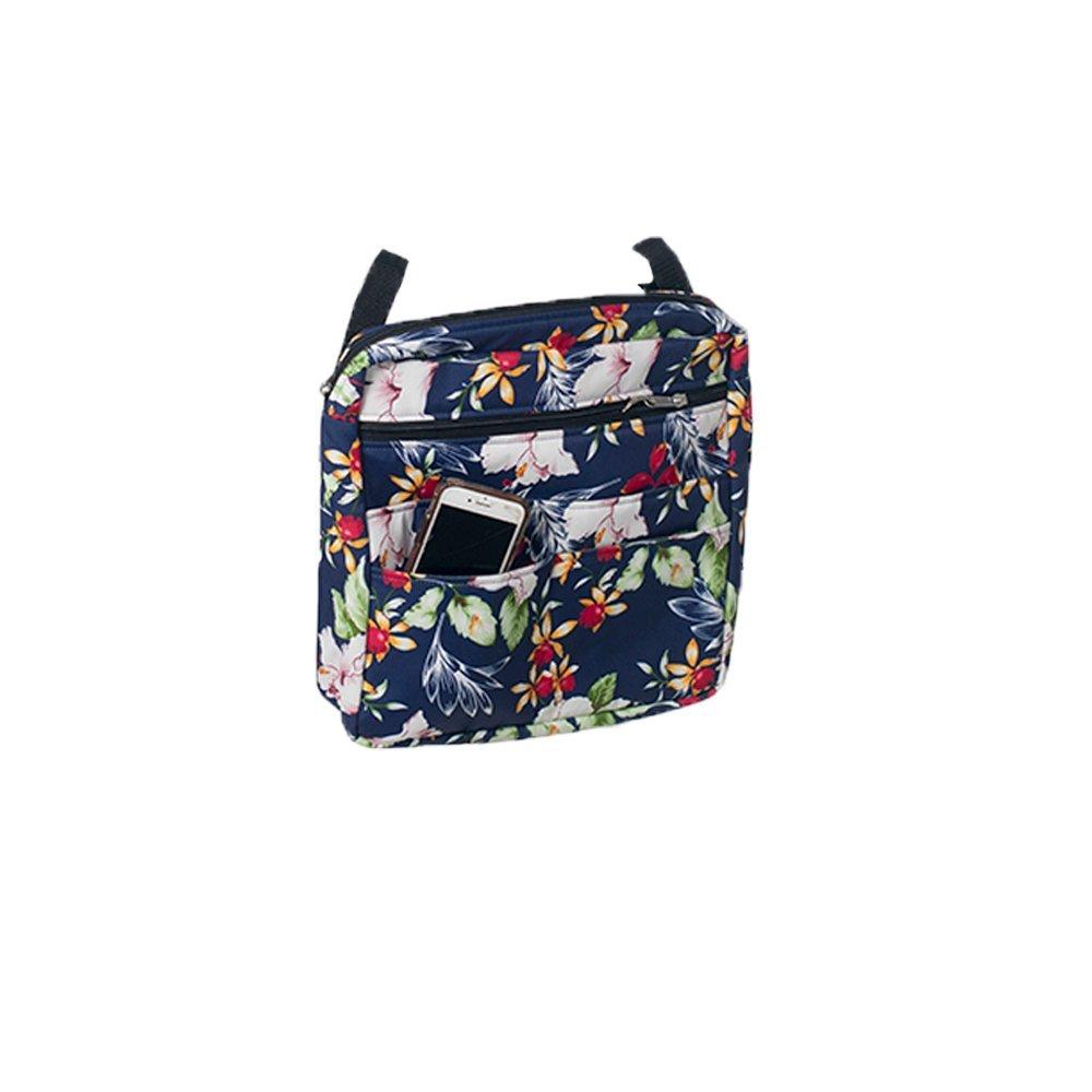Blue Floral - Mobility Bag