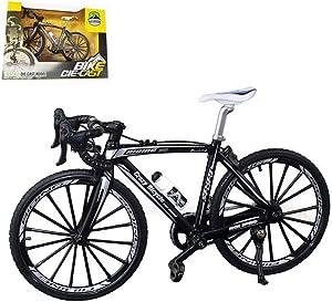 "Kiwochy 1: 8 Bike Metal Model Bicycle Model Decoration Finger Bike Mini Bicycle Model Cool Toy Home Office Desktop Decoration Collection (7.87 5.12 "")"