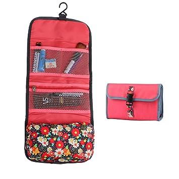 2d4bd918a829 Amazon.com   Floral Travel Toiletry Bag