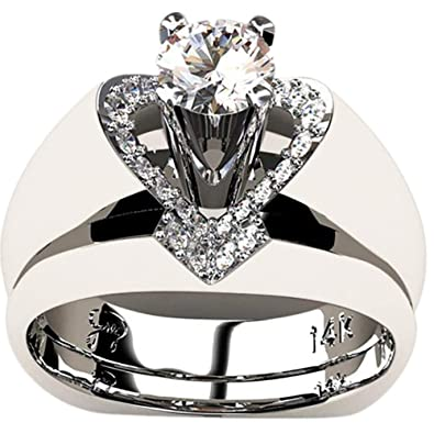Amazon.com: Appoi Jewelry Anillos para mujer, celta, plata ...