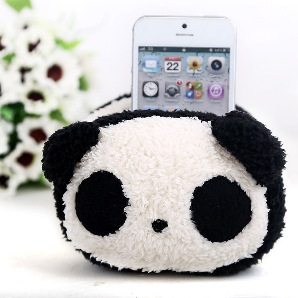 soft toy plush phone holder