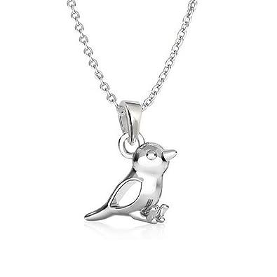 GH1a Spatz ANHÄNGER mit KETTE 925 Echt Silber Mädchen Geschenkidee Vogel (Kette  40cm)  Amazon.de  Schmuck 53f094cf43
