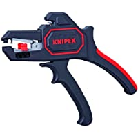 Knipex 1262180 Self Adjusting Insulation Strippers - Awg 10-24, 7.25 Inch