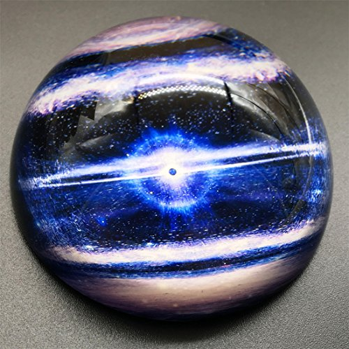 Planet Paperweight - Waltz&F Crystal Planet Paperweight Galss Globe Hemisphere Home Office Table Decoration