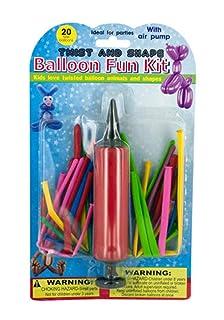 Twist & Shape Balloon Fun Kit with Pump - Pack of 24 Koleimports 1013-OL973