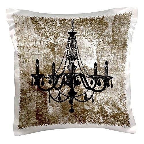 3dRose pc 164683 1 Grunge Chandelier Pillow