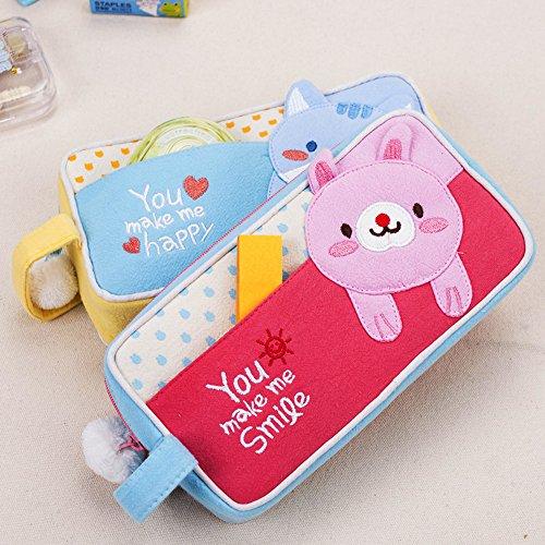 Pencil Case, Twinkle Club Pen Bag Makeup Pouch Zipper Box (Personalized Pencil Cases)