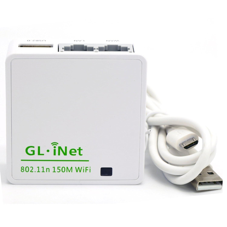 Amazon com: CtrlDepot GL iNet 6416 AR9331 150Mbps Wireless Mini WiFi