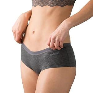 Cariloha Women's Bamboo Underwear by Viscose from Bamboo Boyshort Panties