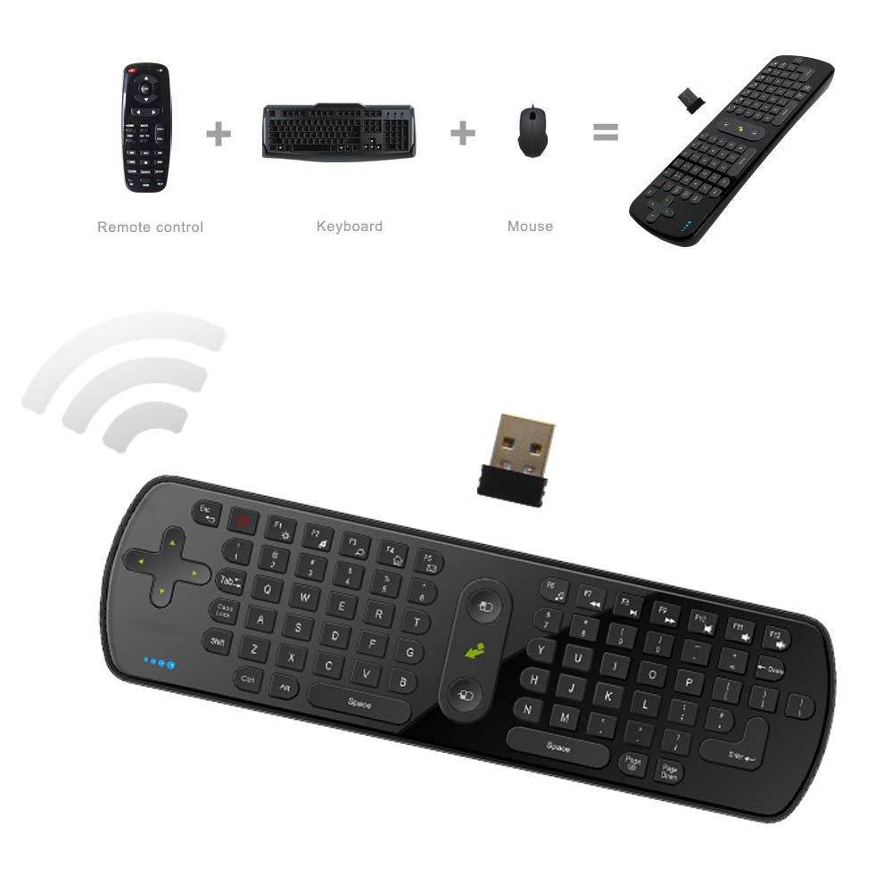 d5de19f77c6 Amazon.com: Measy RC11 2.4GHz Wireless Fly Air Mouse Gaming Keyboard  Gyroscope Handheld Remote Control for Android Smart TV Box: Computers &  Accessories