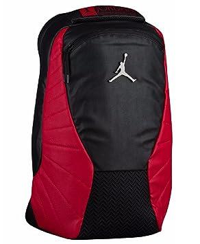 Rojo Wportátil Nike Mochila Bolsillo Retro Negrogimnasio Jordan 12 QdtsxhrC